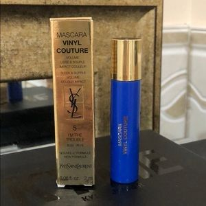 """YSL """"I'M THE TROUBLE"""" BLUE  MASCARA VINYL COUTURE"""